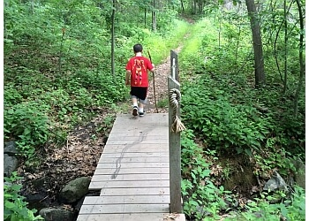 Providence hiking trail Neutaconkanut Park Trail