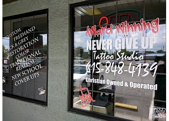 Murfreesboro tattoo shop Never Give Up Tattoo Studio