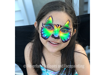 Houston face painting Neverland Balloons and Facepainting