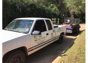 Denton landscaping company New Creations Landscape Services