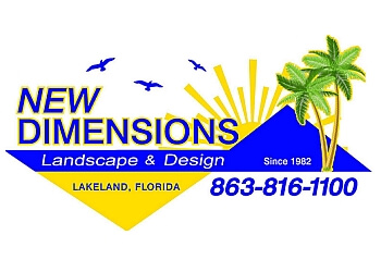 Lakeland landscaping company New Dimensions Landscaping, Inc.