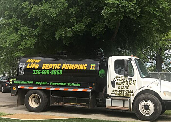 Winston Salem septic tank service New Life II Septic & Rent-A-Jon