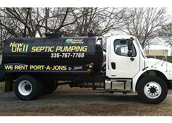 Winston Salem septic tank service New Life II Septic & Rent-A-Jon