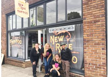 Portland tattoo shop New Rose Tattoo