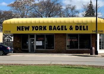 Warren bagel shop New York Bagel Baking Company