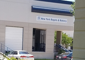 Plano bagel shop New York Bagel and Bakery