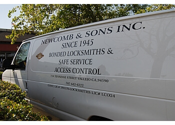 Vallejo locksmith Newcomb & Sons Inc