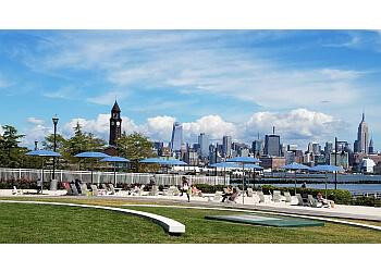 Jersey City public park Newport Green Park