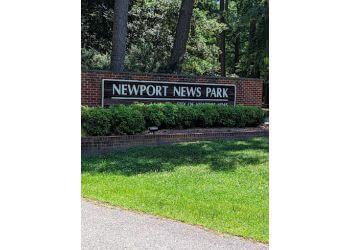 Newport News hiking trail Newport News Park Trail