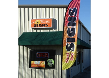 Columbus sign company Next Day Signs