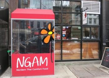 New York thai restaurant Ngam restaurant