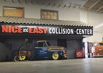 Chula Vista auto body shop Nice & Easy Collision Center