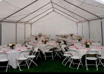 Stockton event rental company Nick's Canopy Rentals