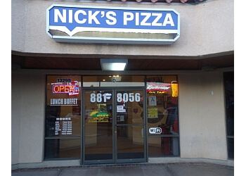 Victorville pizza place Nick's Pizza