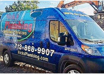 Houston plumber Nick's Plumbing