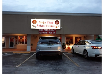 Port St Lucie thai restaurant Ninja Thai Asian Fusion