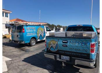 Virginia Beach electrician Nipper Electric Inc.