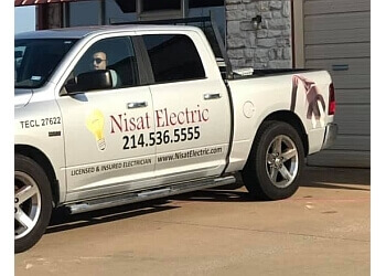 McKinney electrician Nisat Electric Inc.