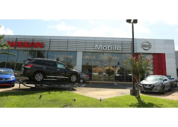 Mobile car dealership Nissan of Mobile