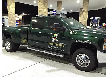 Houston towing company No Limit Towing