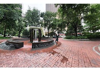 Boston public park Norman B. Leventhal Park