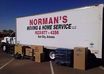 Surprise moving company Normans Moving