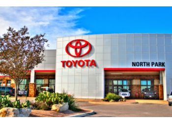 San Antonio car dealership NORTH PARK TOYOTA OF SAN ANTONIO