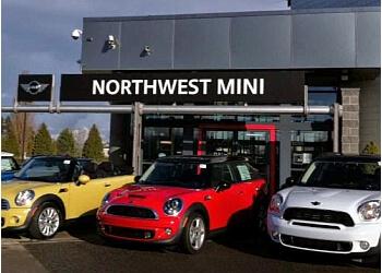 Tacoma car dealership NORTHWEST MINI