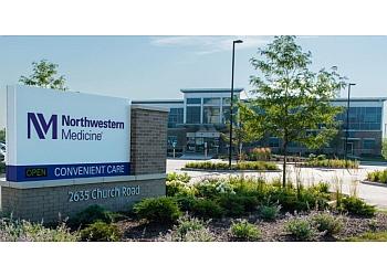 Aurora urgent care clinic Northwestern Medicine Convenient Care