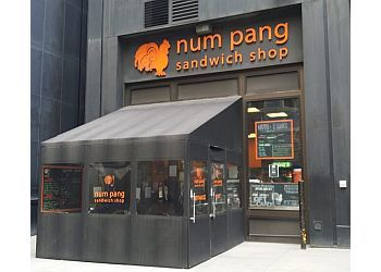 New York sandwich shop Num Pang Sandwich Shop
