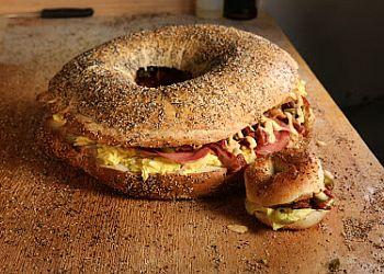 Jersey City bagel shop O'Bagel