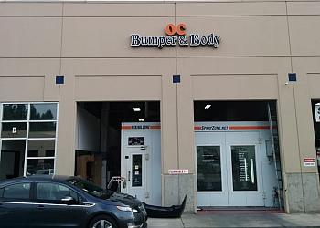 Irvine auto body shop OC BUMPER & BODY
