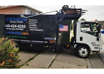 Orange junk removal OC Junk Hauling