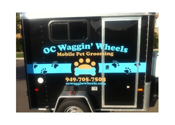Irvine pet grooming OC Waggin Wheels
