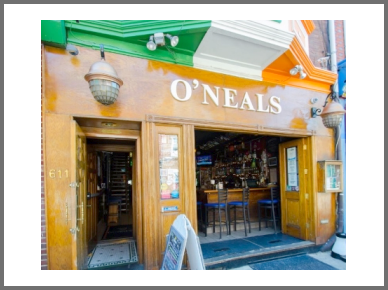 Philadelphia sports bar O'Neals Pub