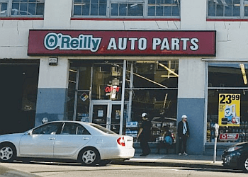 San Francisco auto parts store O'Reilly Auto Parts
