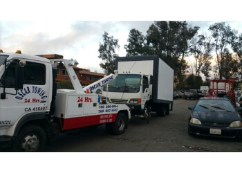 Escondido towing company OSCAR TOWING