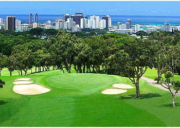 Honolulu golf course Oahu Country Club