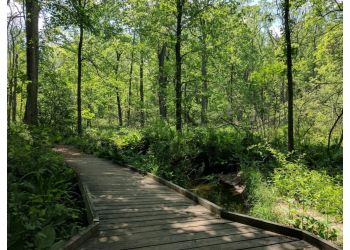 Toledo hiking trail Oak Openings Preserve Metropark Trail