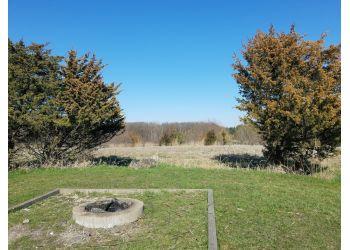 Aurora hiking trail Oakhurst Forest Preserve