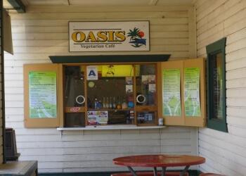 Riverside vegetarian restaurant Oasis Vegetarian Cafe