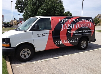 Oklahoma City commercial cleaning service Office Express Janitorial Services, Inc.