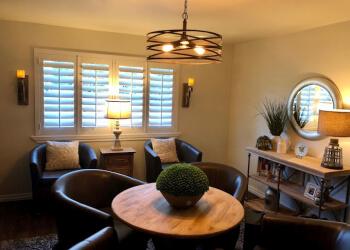 Tulsa window treatment store Oklahoma Shutters
