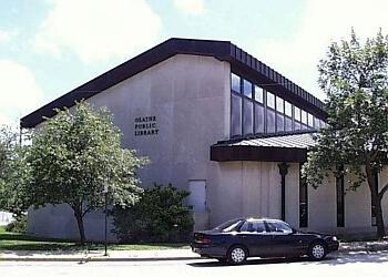 Olathe landmark Olathe Public Library - Central Library
