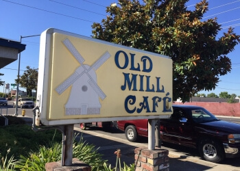 Modesto cafe Old Mill Cafe