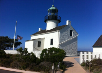 San Diego landmark Old Point Loma Lighthouse