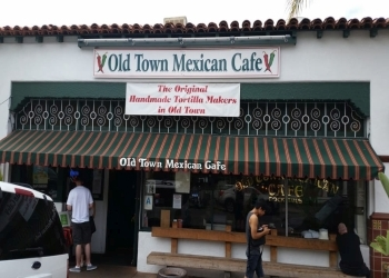 San Diego mexican restaurant Old Town Mexican Cafe