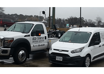 Newport News towing company OLD TOWNE RECOVERY SERVICES