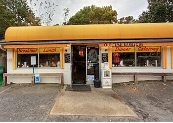 Raleigh barbecue restaurant Ole Time Barbecue restaurant & catering