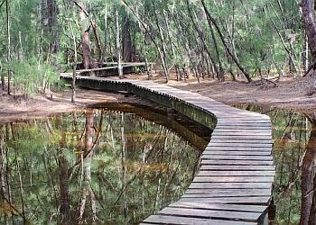 Hollywood hiking trail Oleta River State Park Trail